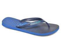 Aero Graphic Zehensandalen in blau