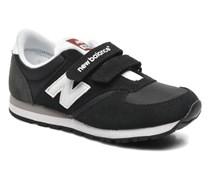 KE420 J Sneaker in schwarz