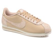 Wmns Classic Cortez Prem Sneaker in beige