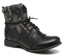 Sara zip Stiefeletten & Boots in schwarz