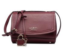 Crossbody Handtaschen für Taschen in weinrot