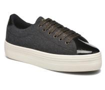 Plato Sneaker Woolie in Vernis schwarz