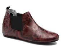 Cult snake Stiefeletten & Boots in weinrot