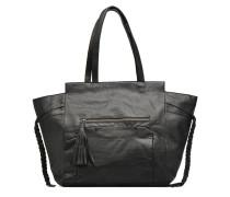 POFO Leather bag Handtaschen für Taschen in schwarz