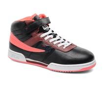 F13 Mid W Sneaker in schwarz