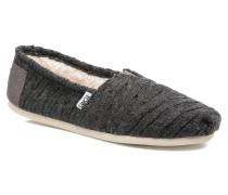Seasonal classics knit Slipper in grau
