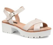 New Plex Sandalen in weiß
