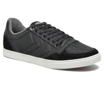 Ten Star Mono Oiled Low Sneaker in schwarz