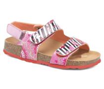 Bio Velcro Sandalen in rosa