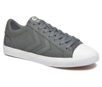Baseline Court Leather Sneaker in grau