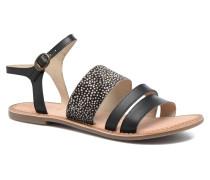 Divatte Sandalen in schwarz