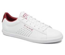 Agate Lo Feminine Mesh Sneaker in weiß