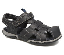 Oak Bluffs Leather Fisher Sandalen in blau