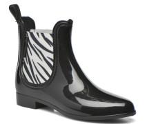 Beatle Zebre Stiefeletten & Boots in schwarz