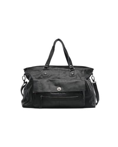 Totally Royal leather Travel bag Handtaschen für Taschen in schwarz
