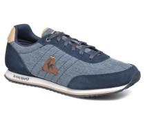 Marsancraft 2 TonesinSuede Sneaker in blau
