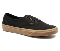 Authentic Gum Sneaker in schwarz
