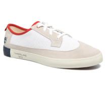 Newport Bay Suede Mesh Sneaker in weiß