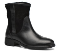 Chanteside Low Fur Stiefeletten & Boots in schwarz