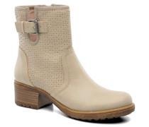 Saki Bootie 018 Stiefeletten & Boots in beige