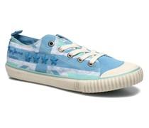Industry Flag Low Cut 2 Sneaker in blau