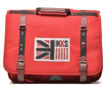 Cartable UK 41cm Schulzubehör für Taschen in rot
