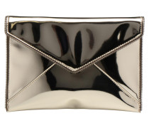 MIRRORED METALLIC LEO CLUTCH Mini Bags für Taschen in goldinbronze