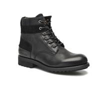 Patton V Officer Plain Toe Stiefeletten & Boots in schwarz
