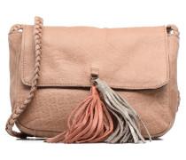 Frabo Leather Crossover bag Handtaschen für Taschen in beige