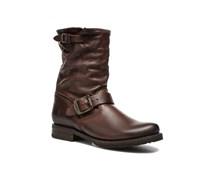 Veronica Shortie Stiefeletten & Boots in braun