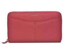VALENTINE Portemonnaie long zippé Portemonnaies & Clutches für Taschen in rosa