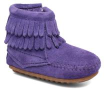 Double Fringe side zip boot B Stiefeletten & Boots in lila