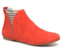 PATCHFLYBOAT Stiefeletten & Boots in rot