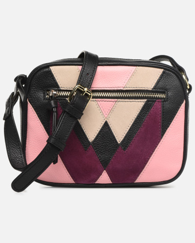 SASJA LEATHER CROSSBODY Handtasche in rosa