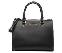 Piped Tote Handtaschen für Taschen in schwarz