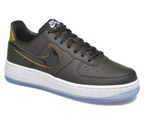 Wms Air Force 1 '07 Prm Sneaker in schwarz