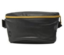 Gold Tumbled Fannypack Bum bag Herrentaschen für Taschen in schwarz