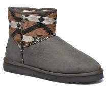 Uma Ethno Stiefeletten & Boots in grau