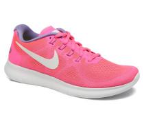Wmns Free Rn 2017 Sportschuhe in rosa
