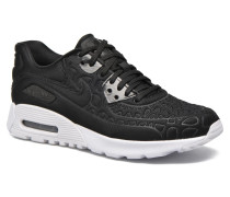 W Air Max 90 Ultra Plush Sneaker in schwarz