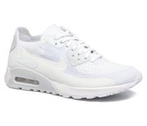 W Air Max 90 Ultra 2.0 Flyknit Sneaker in weiß
