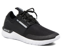 Flow Run Sneaker in schwarz