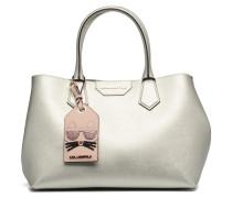 Lady Shopper Handtaschen für Taschen in silber