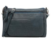 Manon croco Handtaschen für Taschen in blau