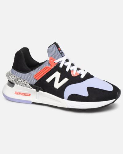 W997 Sneaker in schwarz