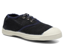 Tennis Velvet Dots Sneaker in blau