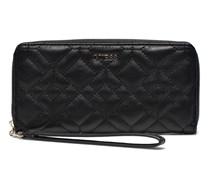 Ines Large Zip Around Portemonnaies & Clutches für Taschen in schwarz