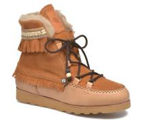 Indiana Stiefeletten & Boots in braun