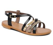Hapax Sandalen in schwarz