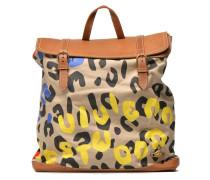 AFRICA PROJECT Steamer bag LeopardinTiger Rucksäcke für Taschen in mehrfarbig